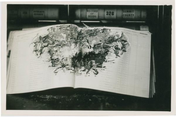 County archives damaged
