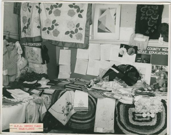 W.P.A. Sewing Exhibit