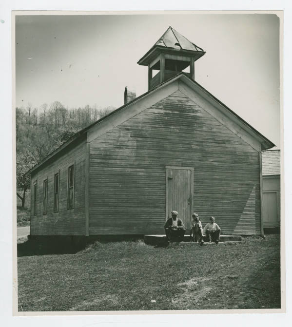 Miner's Sunday Meeting House photograph