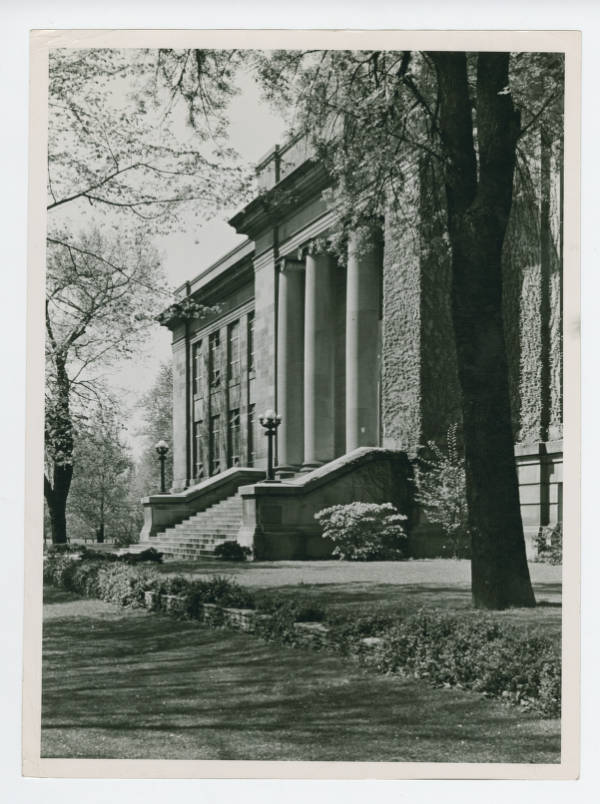 Ohio State Archaeological and Historical Society building photograph