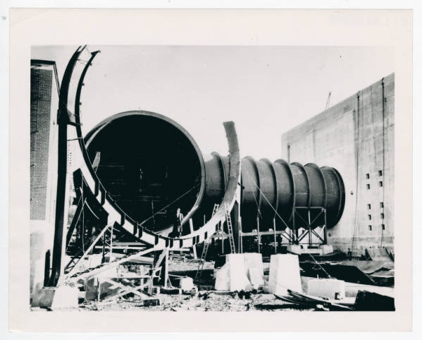 Wind Tunnel at Wright Field photograph