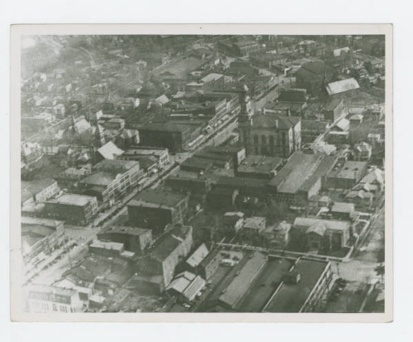 Greenville, Ohio aerial view