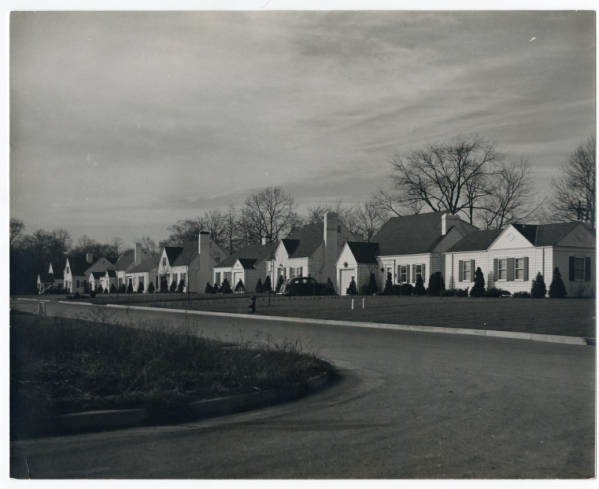 Residential Street in Akron photograph