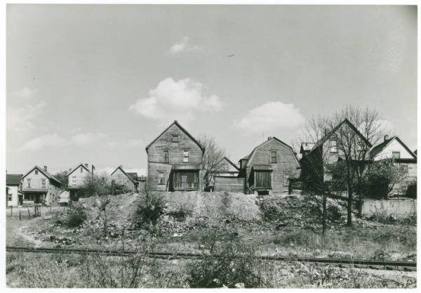 Housing in Akron photograph