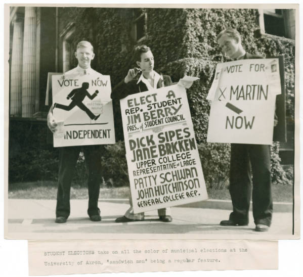 Student Elections photograph
