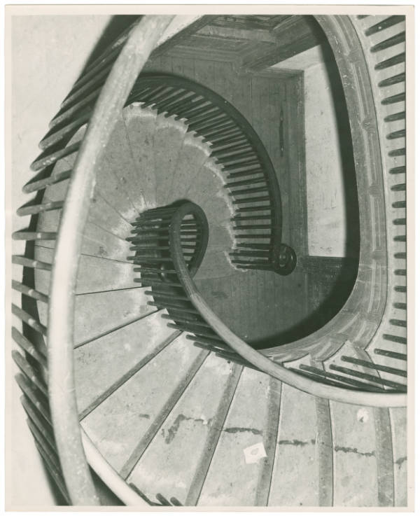 Old Pease Home staircase photograph