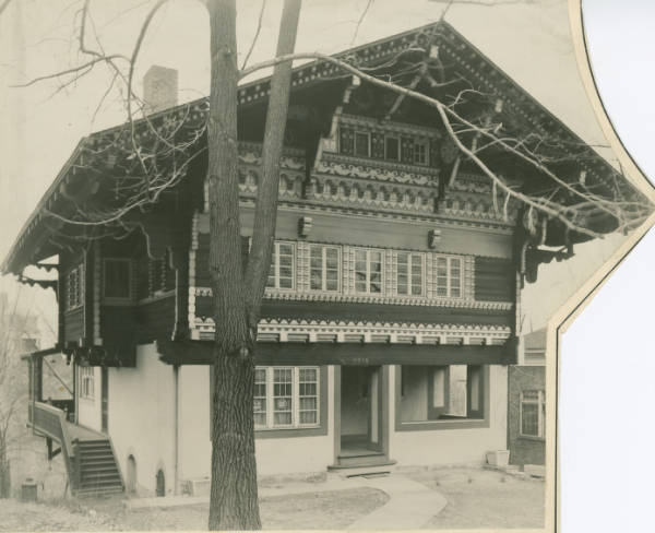 Fisher House in Walnut Hills photograph