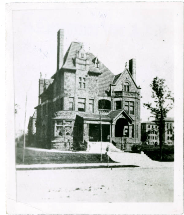 Charles Frederick Myers house photograph