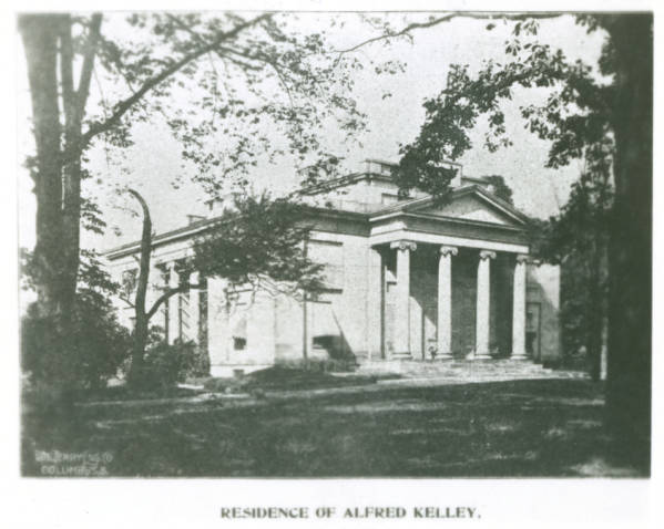 Alfred Kelley home photograph