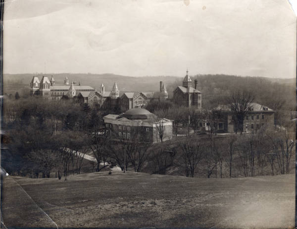 Athens State Hospital buildings photograph