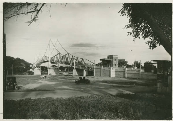 Silver Bridge near Gallipolis photograph