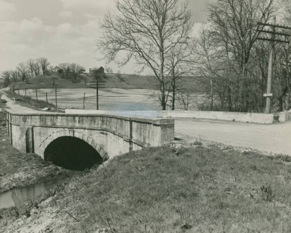 Stone S bridge on National Road photograph