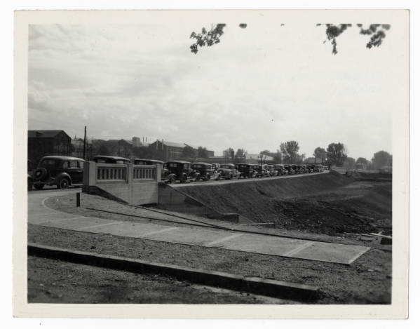 Springfield - Belmont Avenue bridge photograph