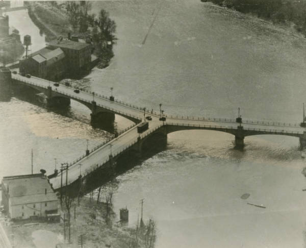 Y-bridge in Zanesville photograph
