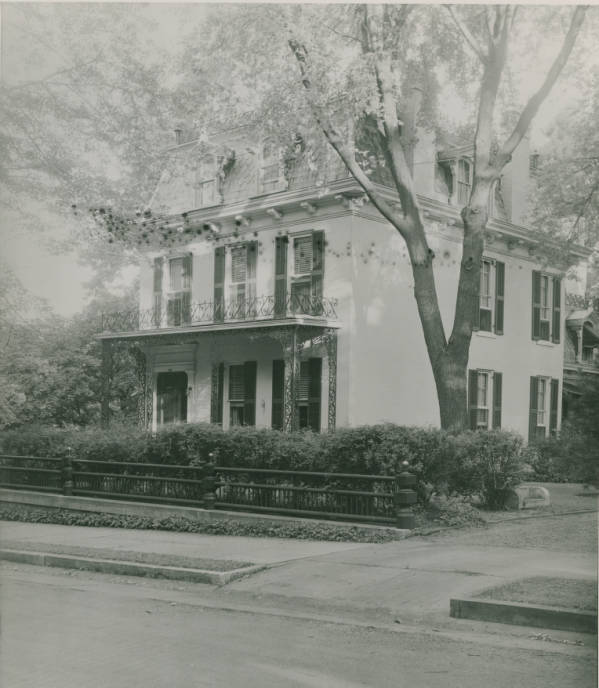 Historic home photograph