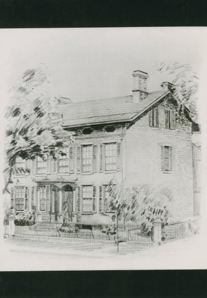 Unidentified Federal-style domestic home