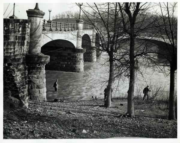 Y-Bridge in Zanesville, Ohio photograph