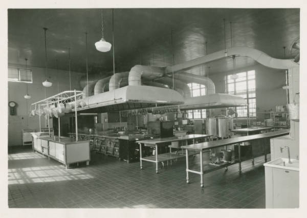 United States Industrial Reformatory kitchen photograph