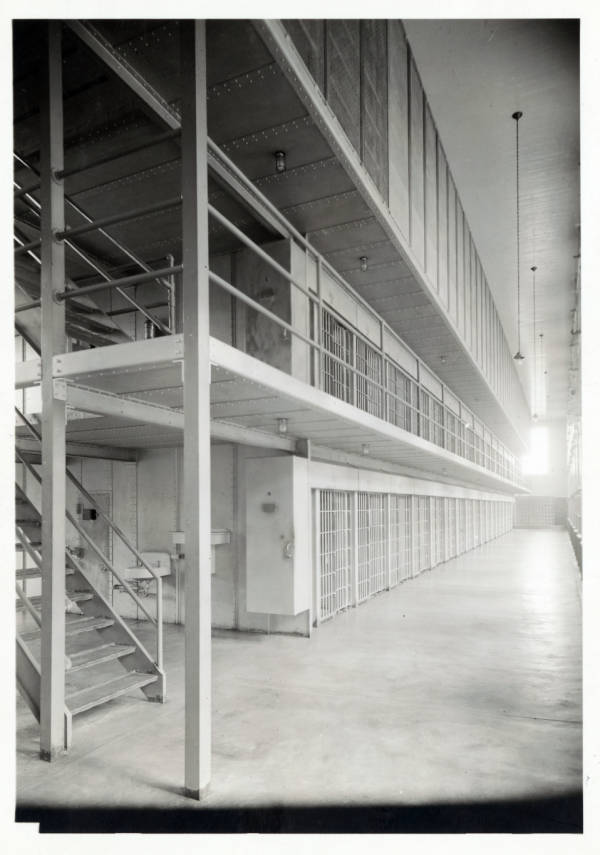 United States Industrial Reformatory cell block photograph