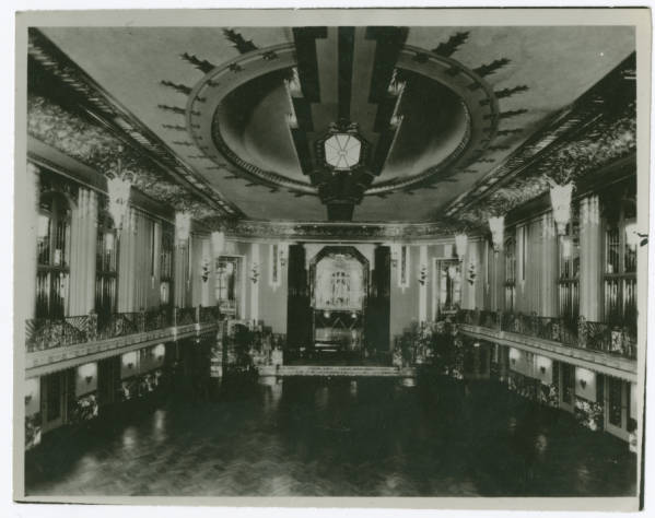 Netherland Plaza Hotel, Hall of Mirrors photograph