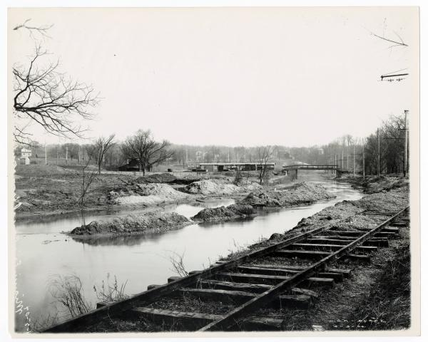 Miami and Erie canal in Montgomery County, Ohio