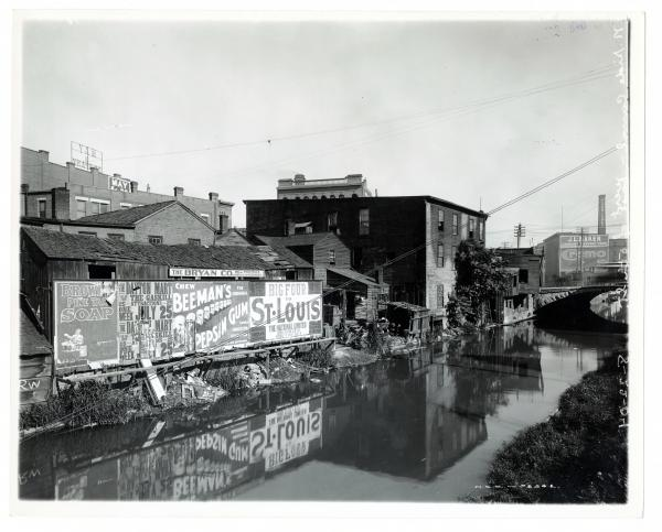 Canal in Dayton, Ohio photograph