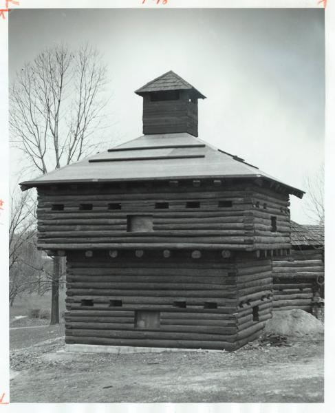 Fort Recovery blockhouse photograph