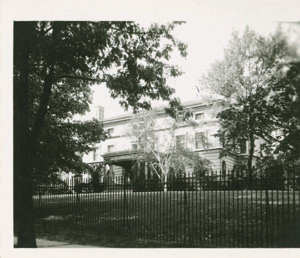 Marion Avenue residence