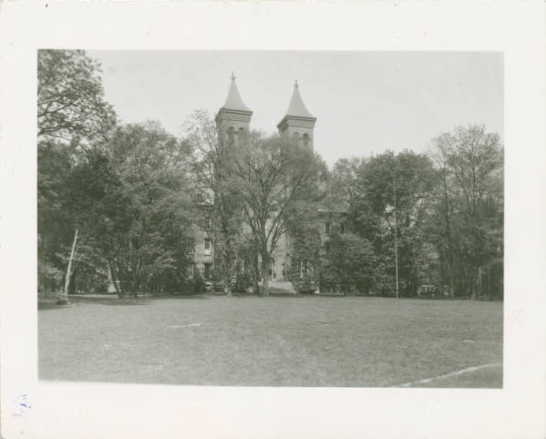 Antioch Hall at Antioch College photograph
