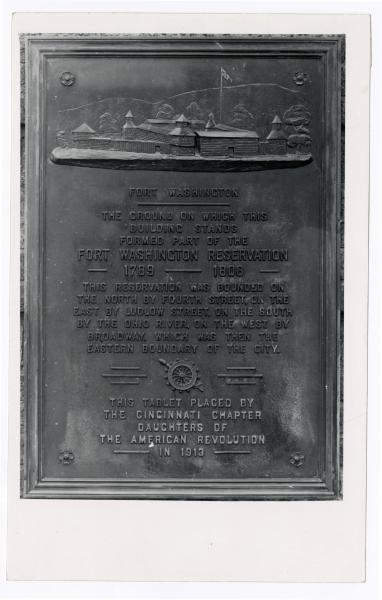 Guilford School - Fort Washington plaque