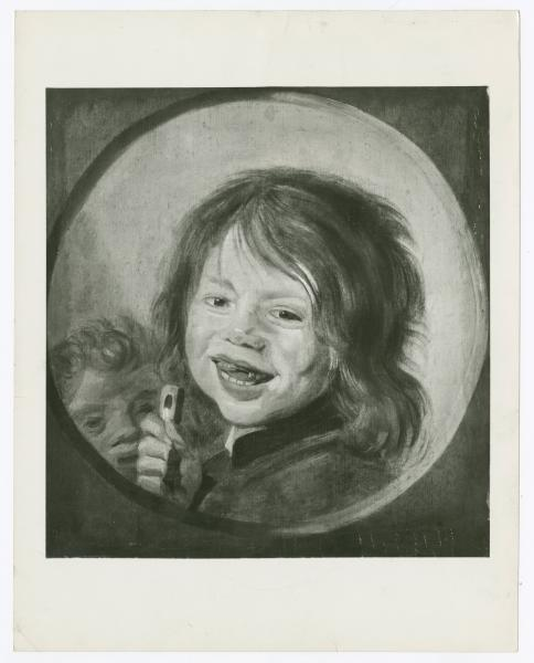 Laughing Child with Flute