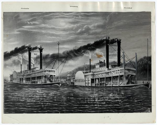 Robert E. Lee and the Natchez steamboat race
