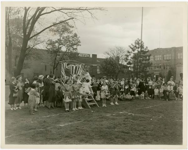 Festival at a school in Norwood, Ohio