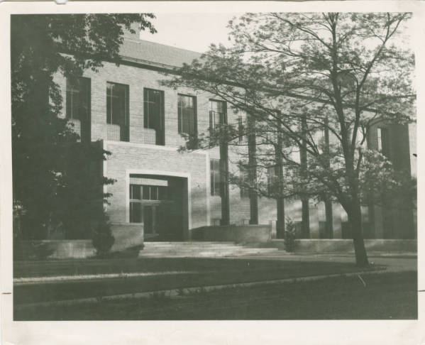 Science Hall at Antioch College photograph