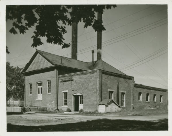 Wilberforce University - old Power House photograph