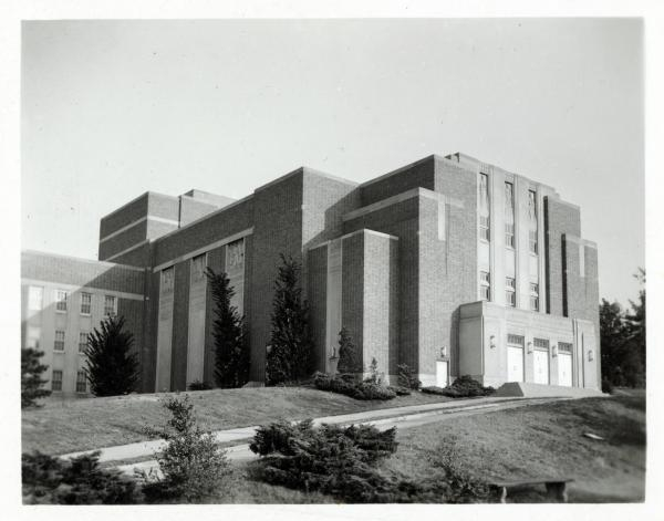 Wilson auditorium, University of Cincinnati