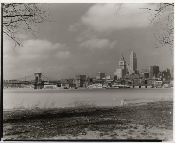 View of Cincinnati from Kentucky
