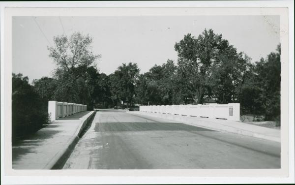 Wittenberg Ave underpass bridge in Springfield