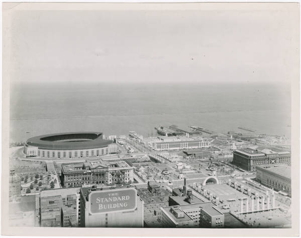 Cleveland lakefront photograph