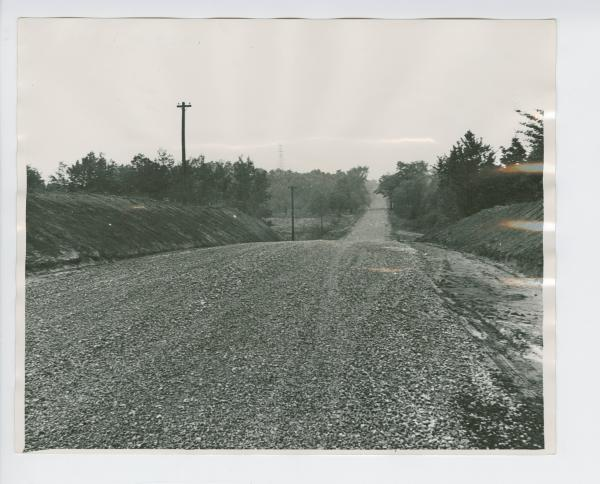 Finished road in Lexington Twp, Stark County, Ohio