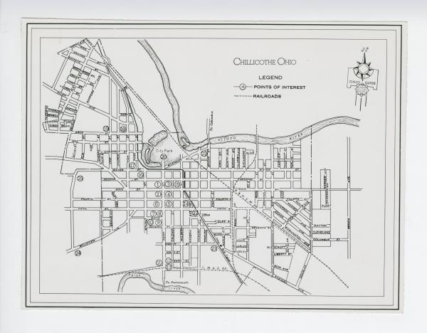 Chillicothe map