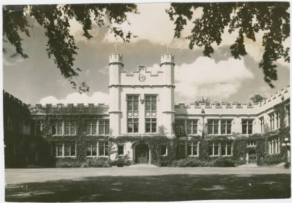 Kauke Hall, College of Wooster photograph