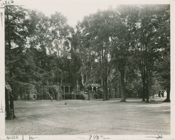 College Hall, Lake Erie College photograph