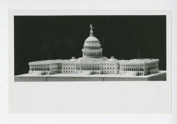 Model of the U.S. Capitol Building