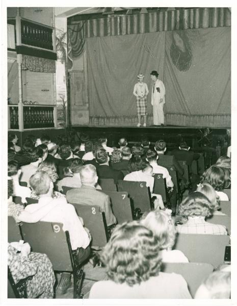 Comedy performance
