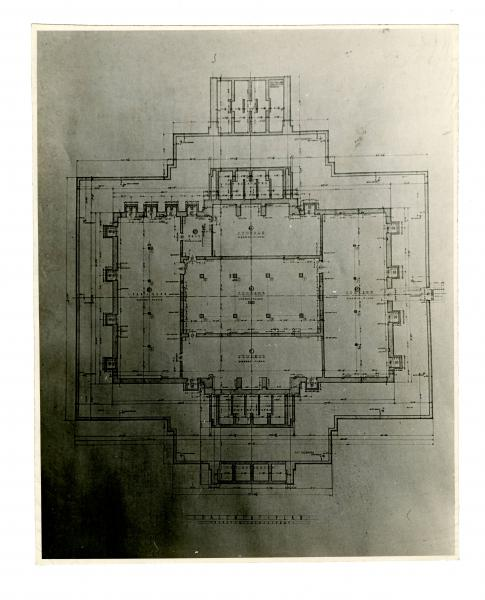 Contentdm search results ohiopix description the hardin county courthouse is in kenton ohio this is a photo of blueprints for the hardin county courthouse they show basement plans malvernweather Images