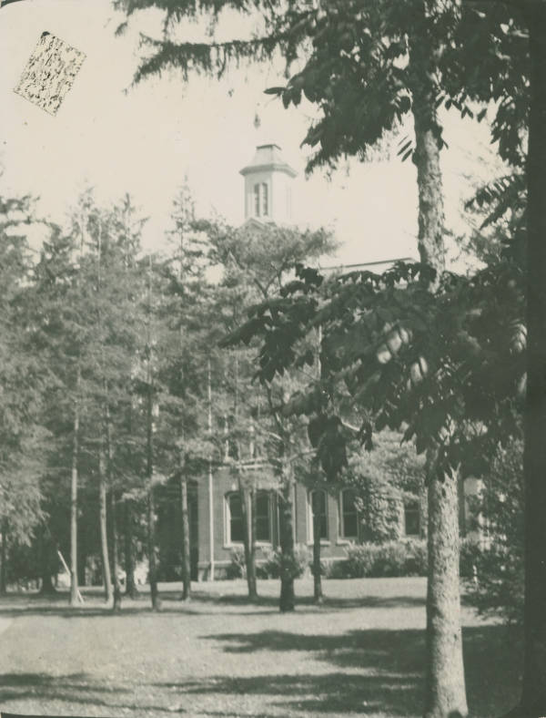 Founders' Hall at Ashland College photograph
