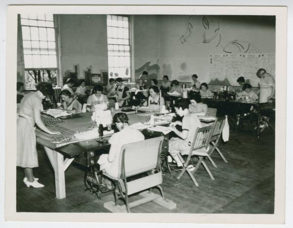 Sewing project in Eaton