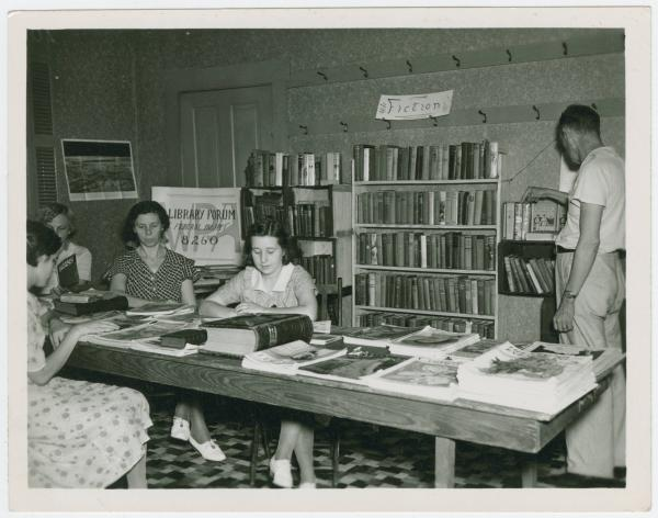West Alexandria library project