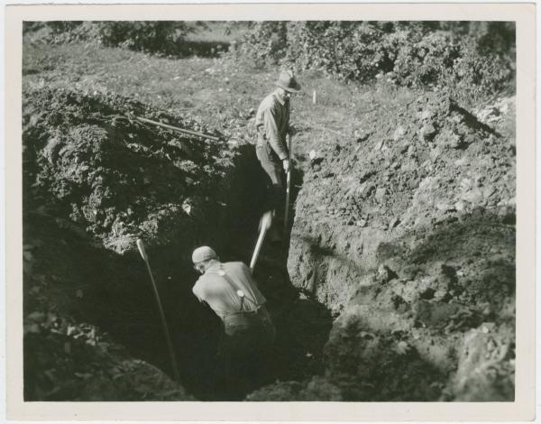 Yellow Springs sewer system installation